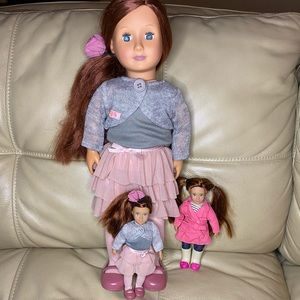 """Our Generation Target 18"""" Doll With Matching Mini"""
